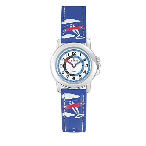 CERTUS JUNIOR Unisex Child Analogue Quartz Watch with PU Strap 647594