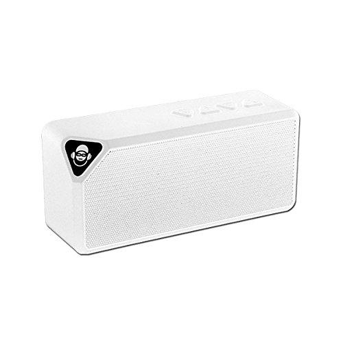 iDance BM1WH - Altavoz portátil Bluetooth (3W, Micro SD, Radio FM) Color...