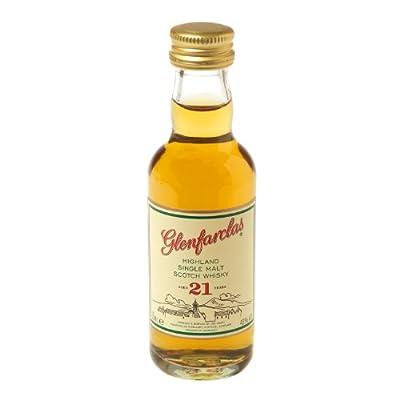 Glenfarclas 21 year old Single Malt Scotch Whisky 5cl Miniature from Glenfarclas