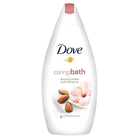 Dove Purely Pampering Almond Cream Body Wash with Hibiscus 500