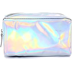 Nikgic Stylisches Blanca polarisiertes Alta Calidad Transparente Material de PU Impermeable Resistente schreibwaren Organizador cosmético Bolso