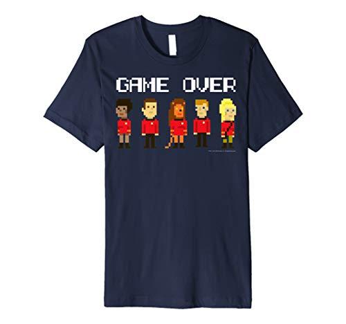Star Trek Original Series Pixel Red Shirts Graphic T-Shirt - Red Trek Shirt Star