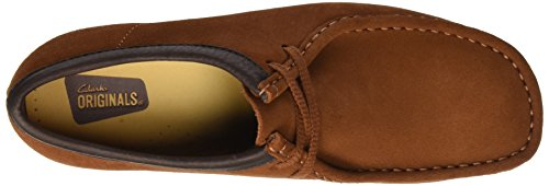 Clarks Originals Wallabee, Chaussure bateau Homme Marron (Dark Tan)