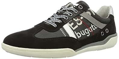 Eu Homme Noir Bugatti 44 Sneakers schwarz K230636 100 Basses THSFUqw