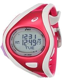 Asics Unisex CQAR0311 Challenge Regular Red White Digital Running Reloj