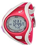 Asics Unisex CQAR0311 Challenge Regular Red White Digital Running Montre