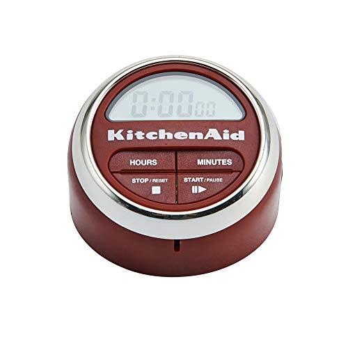 KitchenAid Klassischer Digitaler Timer, Rot, Kurzzeitwecker