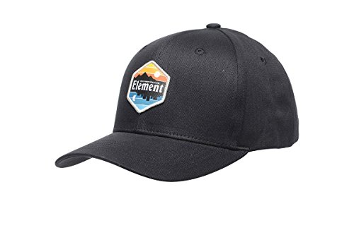 Element Herren Camp II Cap Größe: one size Farbe: Original Black