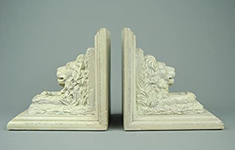 Lion Head bookends book ends