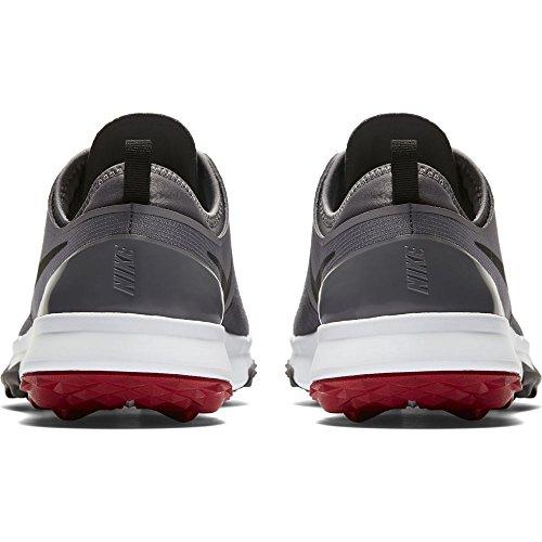 Nike Fi Impact 3, Scarpe da Golf Uomo, Grigio (Gris/Negro 001), 44 EU