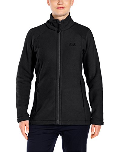 Jack Wolfskin Damen Winnipeg Fleecejacke, Black, M