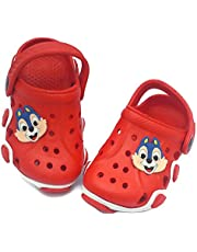 NEW AMERICAN Attractive Red/Black/Blue Clogs for Kids