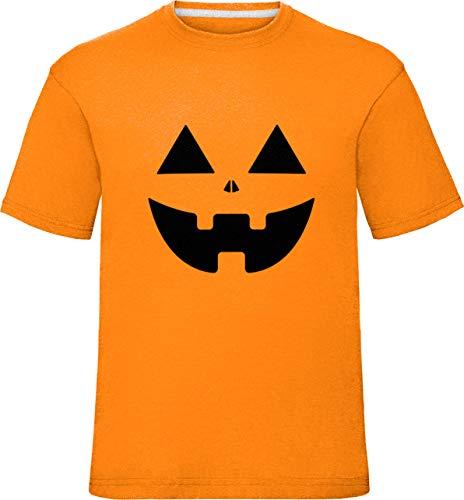 Kostüm Glücklich Skelett Kleinkind Kinder - Kinder Kürbis Gesichter T-Shirt (5-6 Jahre (Truhe 30
