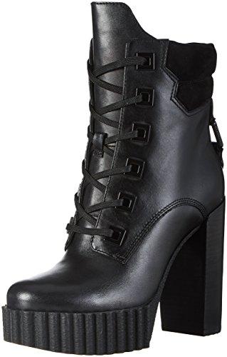 Kendall E Kylie Damen Kkcoty Biker Boots Schwarz (nero Multi (regal Matte) In Pelle)