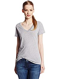 Splendid Women's Very Light Jersey SL V-Neck Short Sleeve T-Shirt