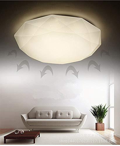 LED Plafoniera Geometria acrilica per Room Aid Corridoio Ufficio Cucina Balcone Camera da letto Bagno Studio Diametro 50-luce calda