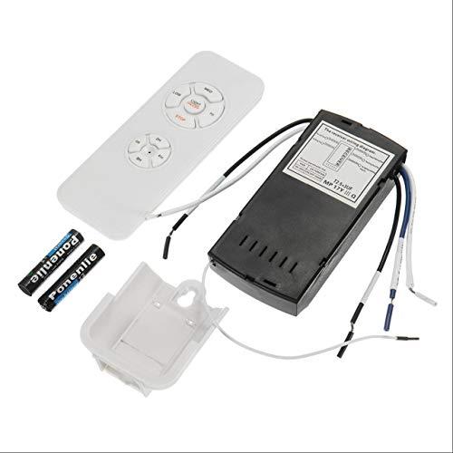 Kit Control Remoto lámpara Ventilador Techo 110-240V