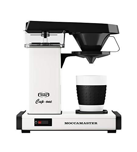Moccamaster Filter Kaffeemaschine Cup-one, 0.3 Liter, 1090 W, Off-White (Kaffeemaschine Technivorm)