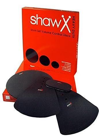 Shaw ssvcd01rhd Rock Drum Kit Lautstärkeregler Disk mit Becken