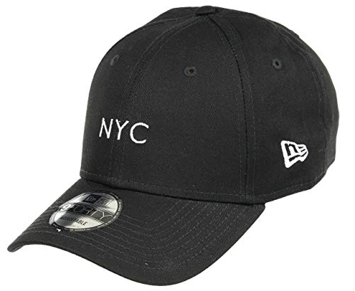 A New ERA Herren NYC Seasonal 9forty Ne Blk Kappe, schwarz, Einheitsgröße