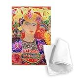 Respects to Frida Kahlo, 2002 (coloured ink.. - Geschirrtuch 100% Baumwolle - Geschirrtücher - 46x70cm - Art247
