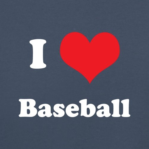 I Love Baseball - Herren T-Shirt - 13 Farben Navy