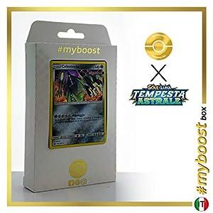 Celesteela 100/168 Holo - #myboost X Sole E Luna 7 Tempesta Astrale - Box de 10 cartas Pokémon Italiano