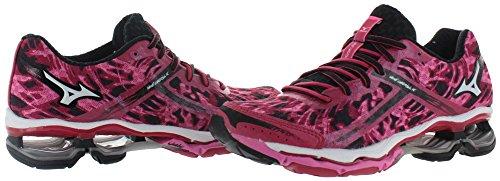 Mizuno Wave Creation 15 Maschenweite Laufschuh Pink/Black/White