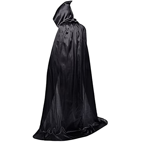 halloween capes adult cosplay cloak of death child cloak cloak with cap performance costume-A