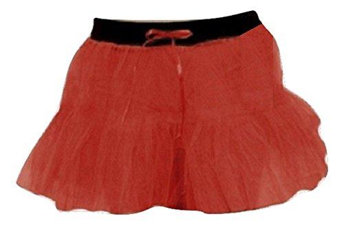 Damen Rot Weiß Polka Dot Maus Theme Fancy Dress Set EUR Größe 36-46- Pick & Mix (M/L (EUR 40-42), Red 2 Layer (Damen Red M&m Kostüme)