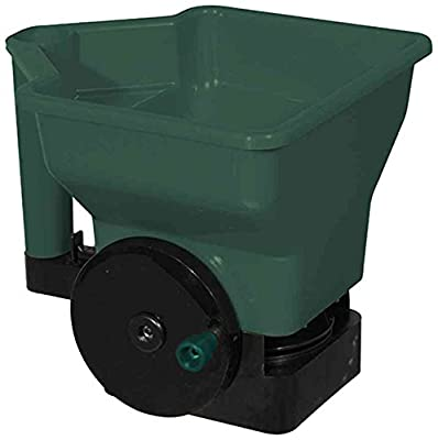 Siena Garden Universalstreuer mit Handkurbel, grün / schwarz, 282657