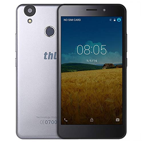 Smartphone THL T9 Pro, Android, 4G, 5.5 Pouces, Argent
