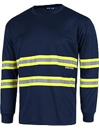 Amazon.es  camiseta manga larga amarilla - Hombre  Ropa 4ab26748dbbf1