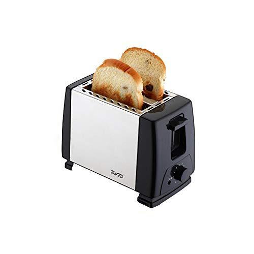 Automatik-Toaster, 2 Langschlitzkammern, Für bis zu 2 Brotscheiben,750 W, edelstahl