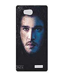 Techno Gadgets back Cover for Micromax Canvas Juice 4 Q382