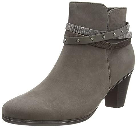Gabor Shoes 35.611 Damen Kurzschaft Stiefel, Grau (anthrazit kombi 19), 40 EU