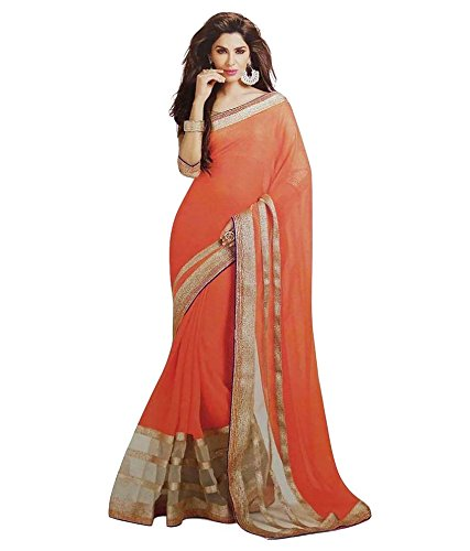 saree (Women's Clothing Saree For Women Latest Design Wear Sarees Collection in Cottan Material Latest Saree With Designer Blouse Free Size Beautiful Bollywood Saree For Women Party Wear Offer Designer Sarees With Blouse Piece)  available at amazon for Rs.199