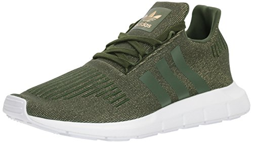 Preisvergleich Produktbild Adidas Women's Swift W Running-Shoes,Night Cargo/Night Cargo/White,10 M US