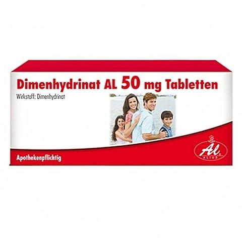 Dimenhydrinat AL 50 mg Tabletten, 20 St.