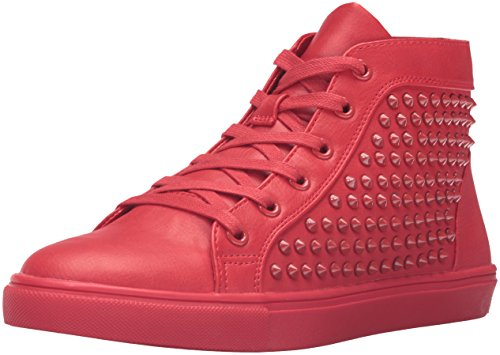 Steve Madden levels Synthetik Sportliche Turnschuh Red