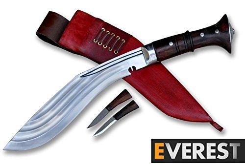 Everest Blade 25 cm Klinge Zinn Chirra Kukri-Khukuri-Gurkha Messer-Messer-Handgemachtes Messer aus Nepal