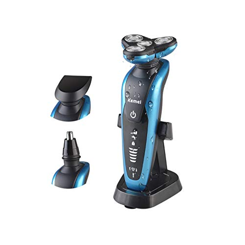 Multifunktionäre Men es Razor, Rotary Four-Head Electric Razor Men ' s Professional Razor Corner Trimmer Nose Hair Lair Body Waterproof - Razor Body Electric