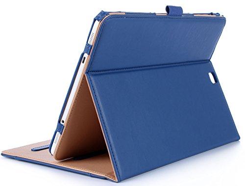 ProCase Housse Samsung Galaxy Tab S2 9.7 - Housse en cuir Housse Folio pour Galaxy Tab S2 Tablet(9.7 pouce, SM-T810 T815 T813) - Marine