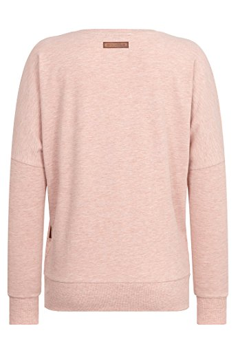 Naketano - Pull - Uni - Femme Pastel Pink Melange
