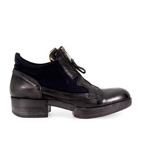 IXOS Damen X17i10027028 Schwarz Leder Stiefeletten