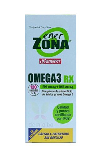 Omega 3 Rx Ener Zona 120 Cápsulas 1000 mg