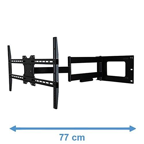 DQ Hercules Fixed 800 Noir Support Mural TV - Recommandé TV-size: 24\\