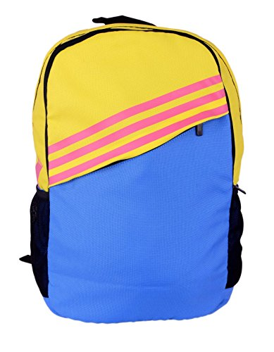 adidas St BP 2A Polyester Backpack, Men's (Yellow)