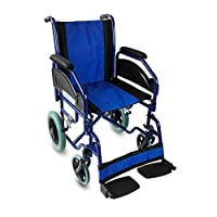 Foldable wheelchair | Removable armrest and footrest | Seat width: 45 cm | Model: Maestranza | Mobiclinic