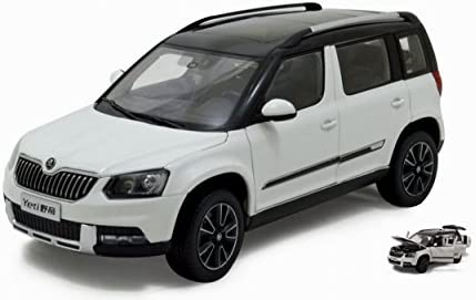 PAUDI MODEL PD2309W PD2309W PD2309W SKODA YETI 2013 WHITE 1:18 MODELLINO DIE CAST MODEL fa7139